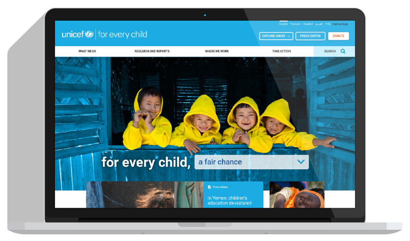 UNICEF Global and Regional Sites